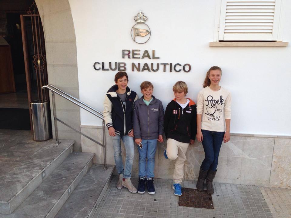 Training und Regatta, Palma